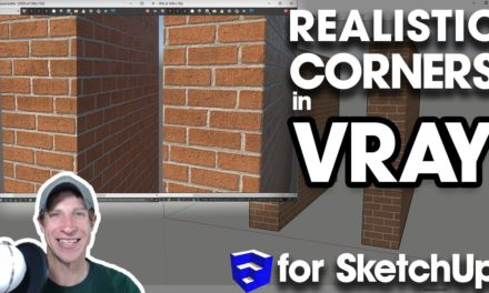 RENDERING WITH VRAY PROXIES in SketchUp - The Rendering