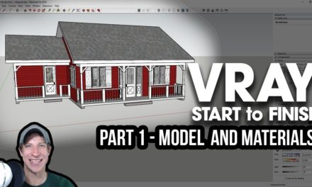 ADJUSTING RENDER SIZE AND QUALITY in Vray for SketchUp - The