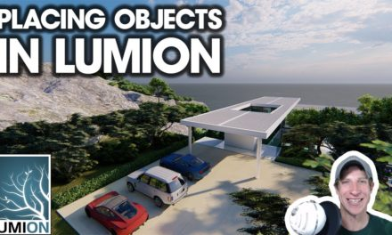 Rendering a Modern House in Lumion - Complete SketchUp to
