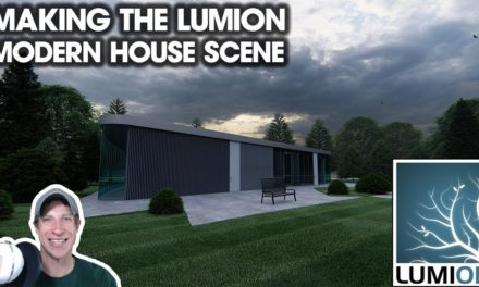 Adding CUSTOM MATERIALS to Renderings in Lumion - The
