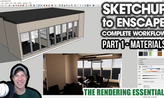 Enscape for SketchUp Tutorials Archives - The Rendering