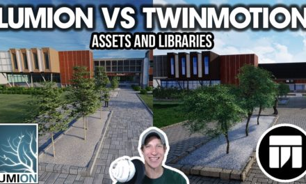 Twinmotion vs lumion 3d